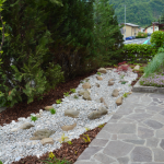 Umestitev suhega potoka v prostor